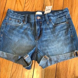 Jcrew factory denim shorts
